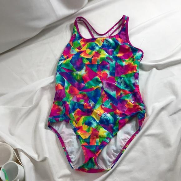 Speedo Other - Speedo One Piece Multicolored Swim Suit Size 16